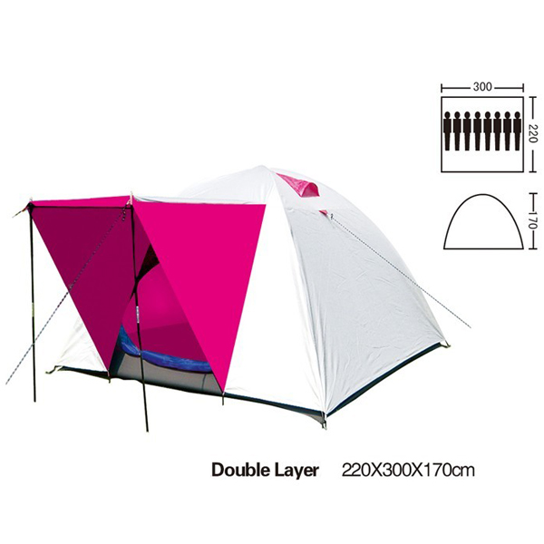 Bgood Outdoor Camping 5-8 People Double Layer Rainproof Tent at Sears.com