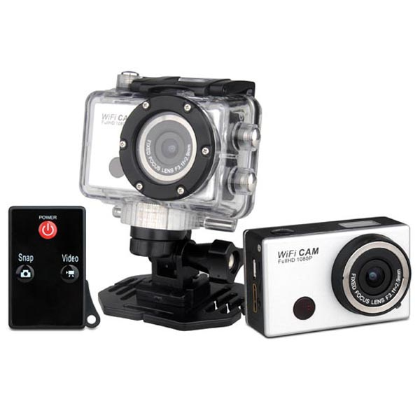 Bgood Diving Cycling Multipurpose HD 1080P Action Sports Camera Wifi